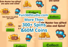 300+ Spins and 100M coins