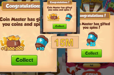 Free 45 spins and 21M Coins